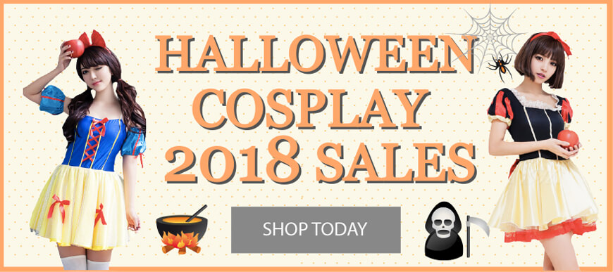 2018 Halloween Cosplay Costumes