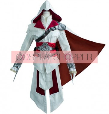 Deluxe Assassin's Creed Brotherhood Ezio Cosplay Costume
