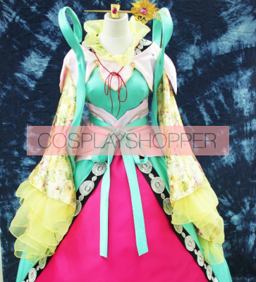 Magi: The Labyrinth of Magic Kougyoku Ren Cosplay Costume