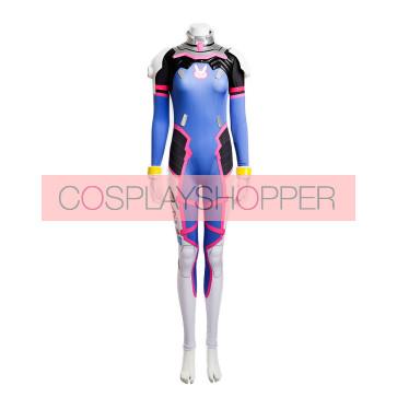Deluxe Overwatch D.VA Jumpsuit Cosplay Costume