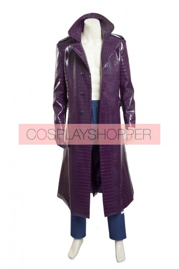 Suicide Squad The Joker Cosplay Costume - Version 2