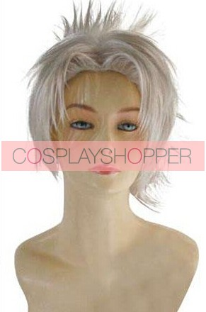 Silver .Hack Haseo Cosplay Wig