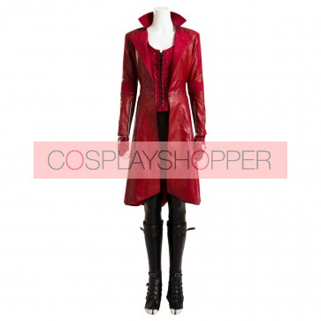 Captain America: Civil War Wanda Maximoff Scarlet Witch Cosplay Costume
