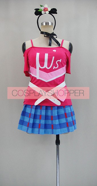 Love Live! Happy Maker Maki Nishikino Cosplay Costume