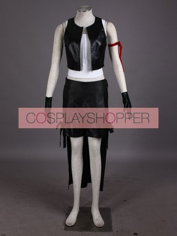 Final Fantasy VII 7: Advent Children Tifa Lockhart Cosplay Costume