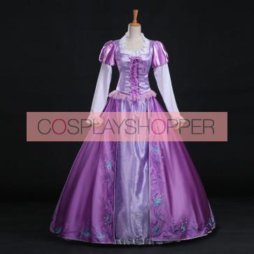 Disney Tangled Rapunzel Dress Cosplay Costume
