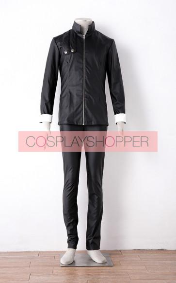 Tokyo Ghoul Ken Kaneki Black Battle Suit Cosplay Costume