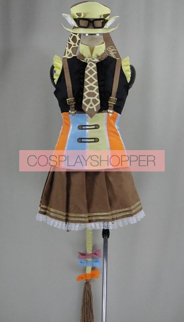 Love Live! Rin Hoshizora Animal Ver. Cosplay Costume