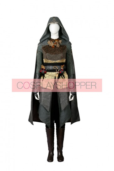 Movie Assassin's Creed Sophia Rikkin Cosplay Costume
