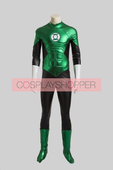 Green Lantern Hal Jordan Cosplay Costume
