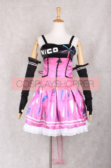 Love Live! School Idol Festival App Game Nico Yazawa Cosplay Costume