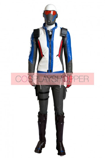 Deluxe Overwatch Soldier 76 Suit Cosplay Costume