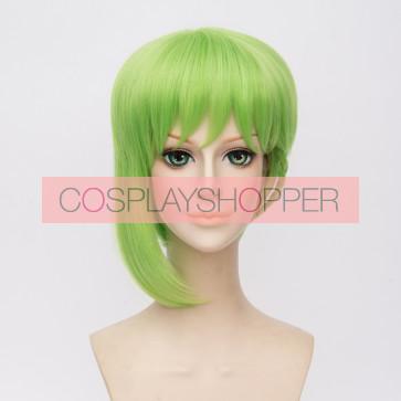 Green 30cm Macross Delta Reina Prowler Cosplay Wig