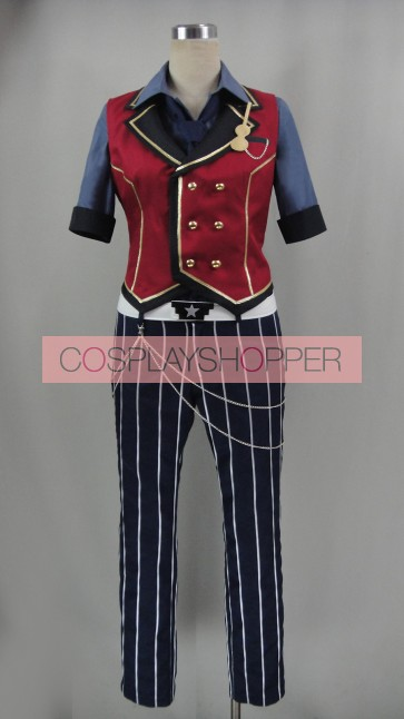 Ensemble Stars Sincere Contrabass Hokuto Hidaka Cosplay Costume
