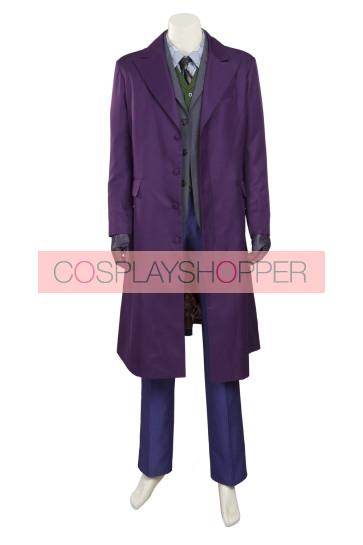 Batman: The Dark Knight Rises The Joker Cosplay Costume
