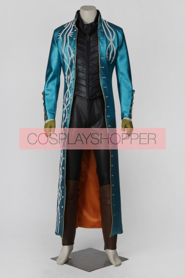 Devil May Cry 3 Vergil Cosplay Costume Version 2