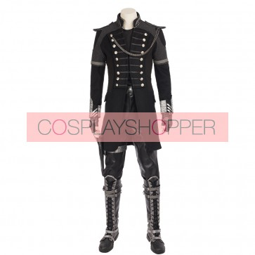 Kingsglaive Final Fantasy Xv Nyx Ulric Cosplay Costume With Boots