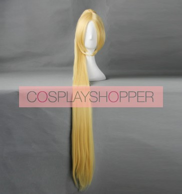 Yellow 120cm Heroes of the Storm Nova Cosplay Wig