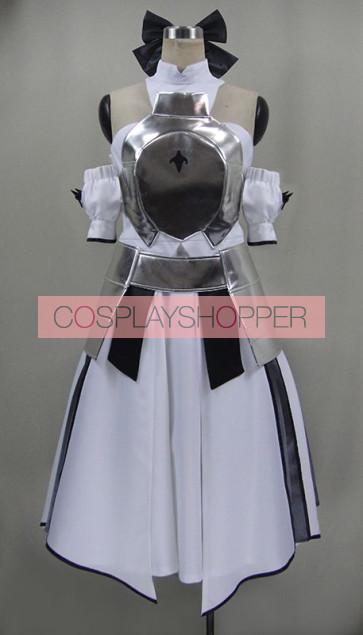 Fate/Zero Saber White Cosplay Costume