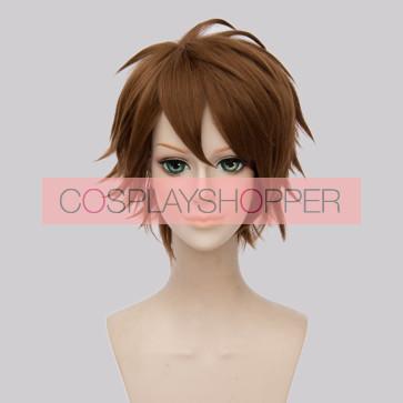 Brown 30cm IDOLiSH7 Ryunosuke Tsunashi Cosplay Wig