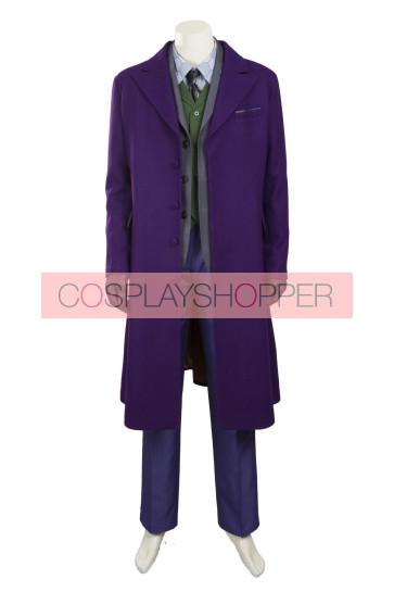Batman: The Dark Knight Rises The Joker Woolen Coat Cosplay Costume