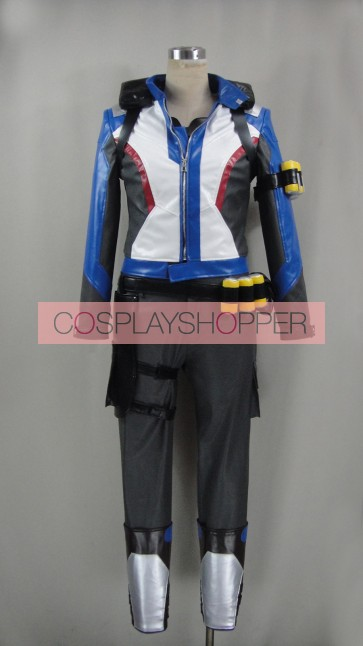 Standard Overwatch Soldier 76 Suit Cosplay Costume