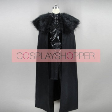Game of Thrones Jon Snow Cosplay Costume - Version 2