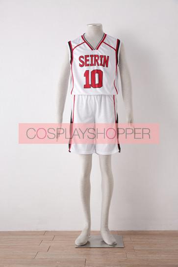 Kuroko no Basuke Kuroko's Basketball Season 2 Taiga Kagami White Cosplay Costume