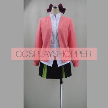 Seraph of the End Vampire Reign Owari no Serafu Shinoa Hiragi Daily Suit Cosplay Costume