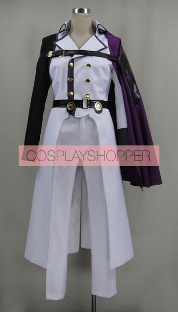 Seraph of the End: Vampire Reign Owari no Serafu Crowley Eusford Cosplay Costume - Version 2