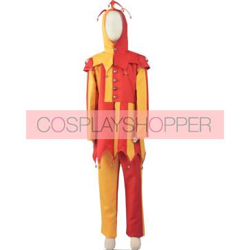 Circus Clown Cosplay Costume