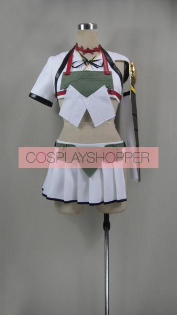 Kantai Collection KanColle Aircraft Carrier Katsuragi Cosplay Costume
