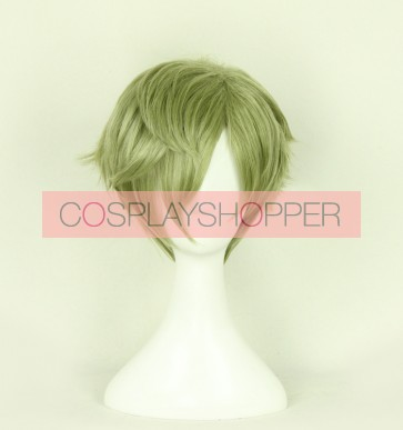 Green 30cm Touken Ranbu Uguisumaru Cosplay Wig
