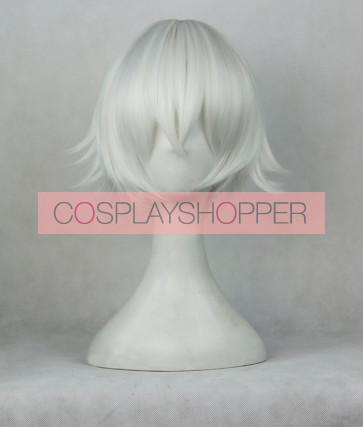 Silver 35cm K Project Yashiro Isana Cosplay Wig