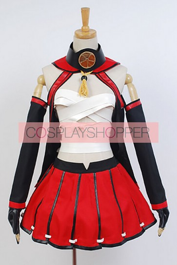 Kantai Collection KanColle Battleship Musashi Cosplay Costume