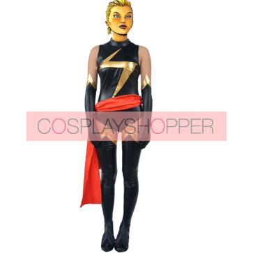 Carol Danvers Ms. Marvel Cosplay Costume