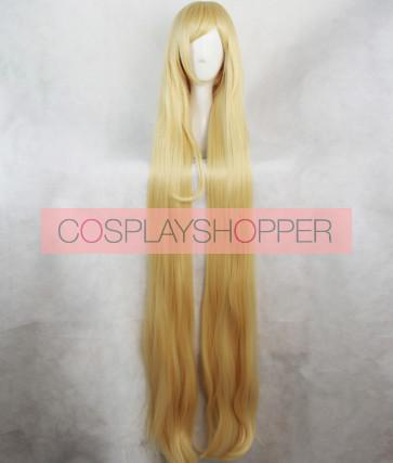 Gold 120cm Noragami Aragoto Bishamonten Cosplay Wig