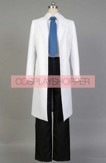 Young Black Jack Kuroo Hazama Cosplay Costume