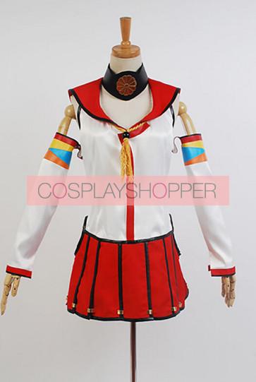 Kantai Collection KanColle Battleship Yamato Cosplay Costume