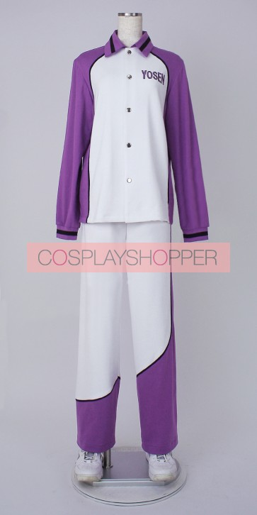 Kuroko no Basuke Yosen High School Sports Uniform Cosplay Costume