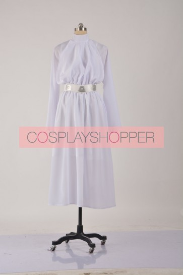 Star Wars Princess Leia Organa Dress Cosplay Costume