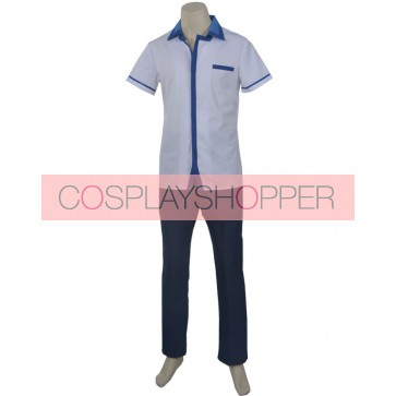 Kuromukuro Kennosuke Tokisada Ouma Boy's School Uniform Cosplay Costume
