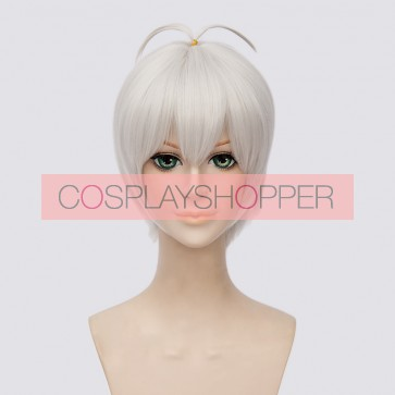 Silver 30cm IDOLiSH7 Ousaka Sougo Cosplay Wig