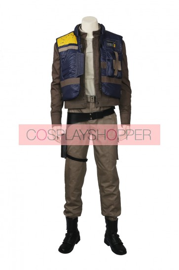Rogue One: A Star Wars Story Cassian Andor Cosplay Costume