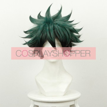 Green and Black 35cm My Hero Academia Izuku Midoriya Deku Cosplay Wig