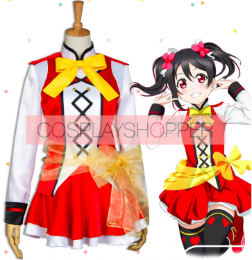 Love Live! The School Idol Movie Sunny Day Song Nico Yazawa Cosplay Costume
