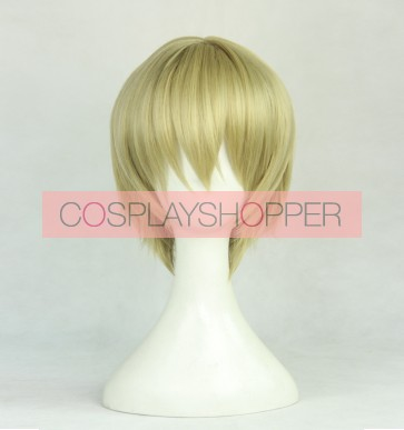 Tawny 30cm Aoharu x Kikanju Aoharu x Machinegun Hotaru Tachibana Cosplay Wig