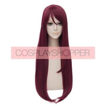 Red 80cm Love Live! Sunshine!! Riko Sakurauchi Cosplay Wig