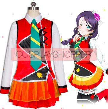 Love Live! The School Idol Movie Sunny Day Song Nozomi TojoCosplay Costume