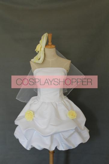Love Live! Rin Hoshizora Bridesmaid Dress Cosplay Costume